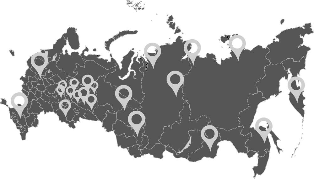 Fondem. карта России с крымом